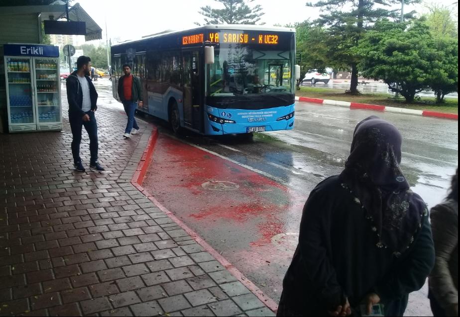 otobüs şikayeti